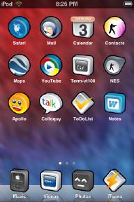 3deebly iPhone Theme