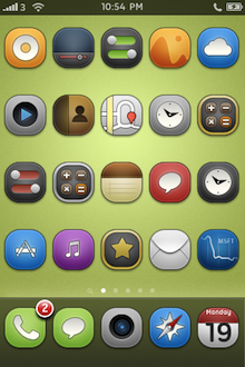Touchit 4.2 iPhone Theme