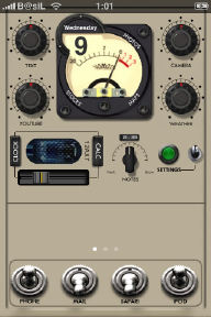 audio iphone theme