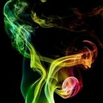 color smoke iphone wallpaper