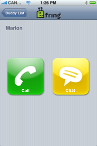 iphone voip fring