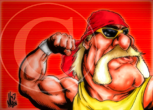 iPhone Hulkamania Wrestling