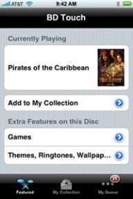 NetBlender BD Touch application
