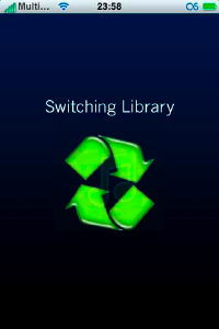 swap library iphone 1