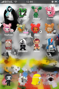 iPhone theme tokidoki