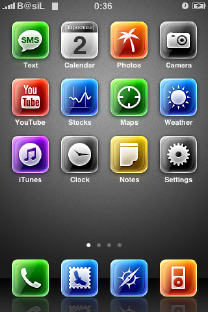 iPhone Theme adorned
