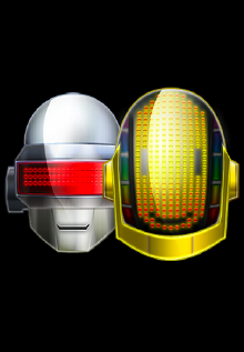 daft-punk iPhone Baterry Images Customize