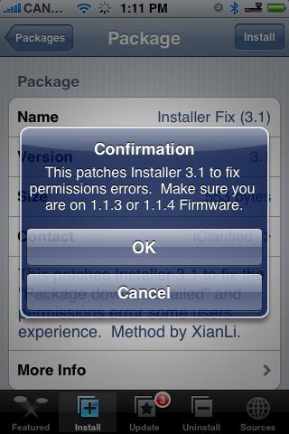 Installer 3.1 Fix