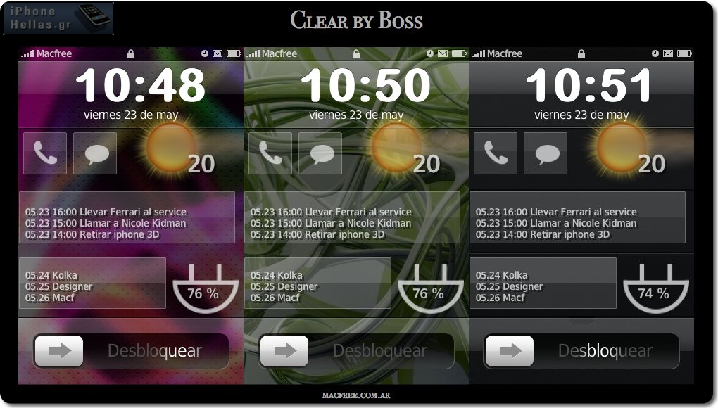 itoday clear theme by boss