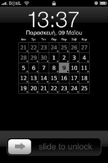kate iphone lock-screen