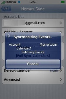 NemuSync iPhone Google Calendar 2