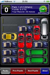 parking lot iphone game level