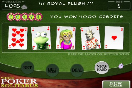 pokersolitarus iphone poker 2