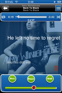 weLyrics download lyrics screenshot