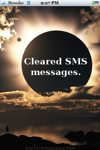 ClearSMS iPhone