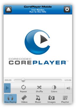 CorePlayer iPhone