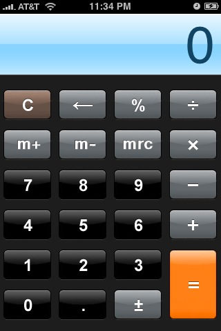 GoodCalculator for iPhone