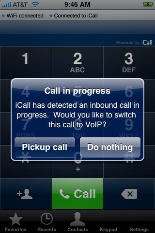 icall fpr iphone