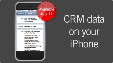 iclink iPhone + CRM