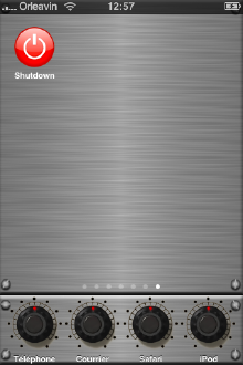 shutdown.app iPhone