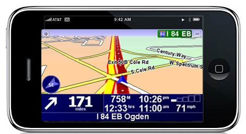 tomtom iPhone 3G