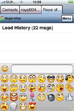 Agile Messenger iPhone 3