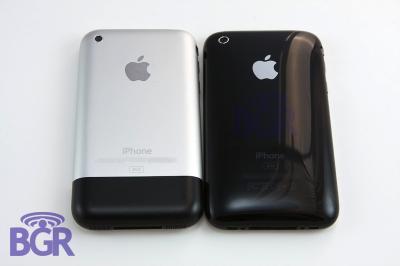 iPhone 3G vs iPhone