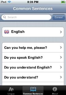 Linguo iPhone 2