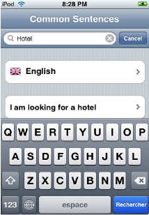 Linguo iPhone 3