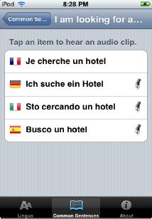 Linguo iPhone 4