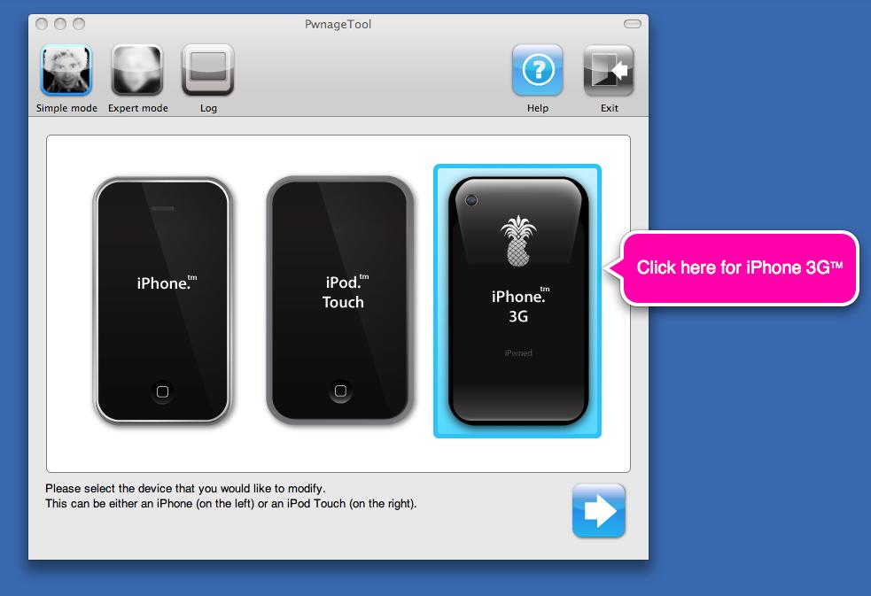 Pwnage v2.0 iPhone 3g