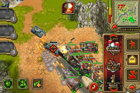 Command & Conquer- Red Alert iPhone screenshot 1