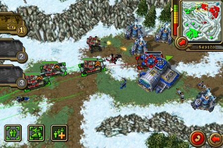 Command & Conquer- Red Alert iPhone screenshot 2