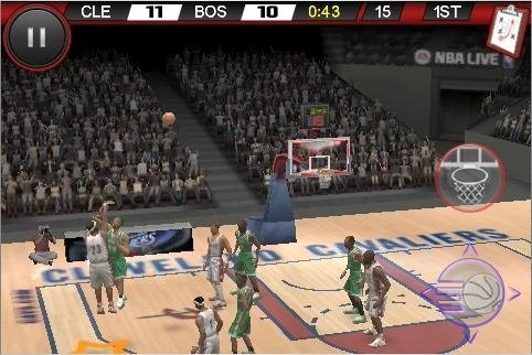 NBA Live 10 for iPhone