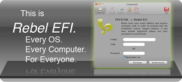 Rebel EFI Psystar