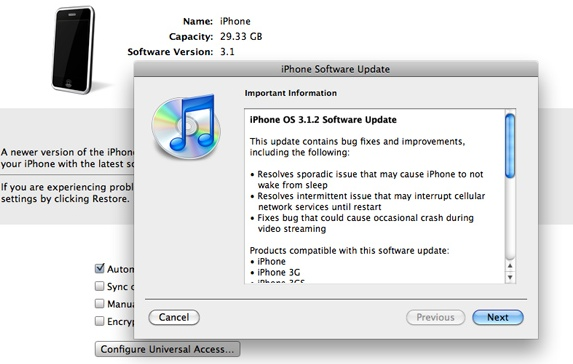 iPhone v3.1.2