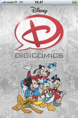 Digicomics- Walt Disney comic books on your iPhone 1