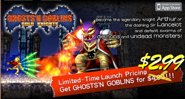 'Ghosts 'N Goblins Gold Knights' iPhone