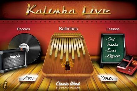 KalimbaLive iPhone