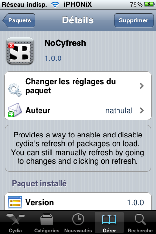 NoCyfresh Cydia iPhoneHellas
