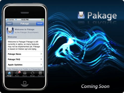 Pakage iPhone installer