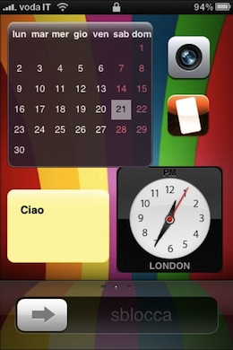 QuickWidgets iPhone Lockscreen Widgets