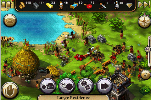 Settlers on iPhone