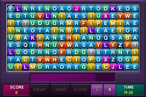 'String 'Em In' word puzzle game iPhoneHellas.gr