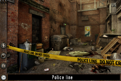 The Profiler- Examine crime scenes on your iPhone