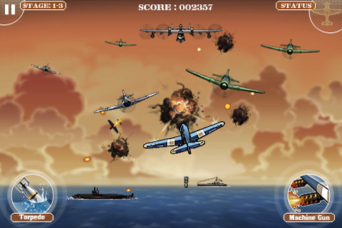 1945 Ace Destroyer iPhone