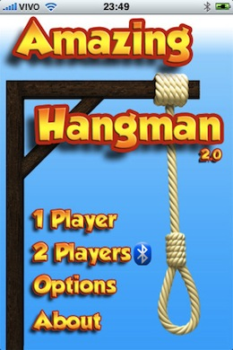 Amazing Hangman (with Bluetooth multiplayer)