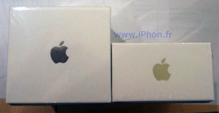 Apple reduces the packaging of iPhone 3GS