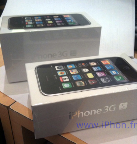 Apple reduces the packaging of the iPhone 3GS