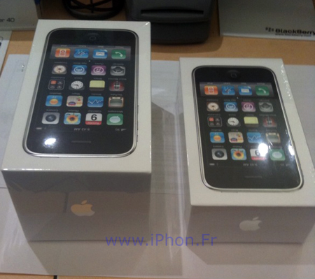 Apple reduces the packaging of the iPhone3GS
